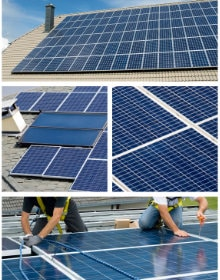 Combien de panneaux solaires pour une maison ? Calcul et rendement
